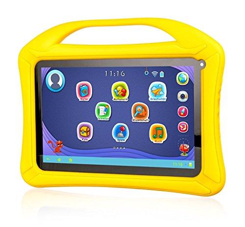 Xoro KidsPAD 031189 22,8 cm Tablet-PC(Rock chip RK3126, 1 GB RAM, 8 GB HDD, Mali-400 MP2, Android 5,1) giallo