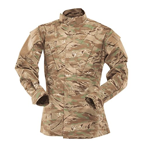 Tru-Spec Tactical Response Shirt, Herren Uni, All Terrain Tiger Stripe -