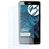 Bruni Schutzfolie für Acer Liquid E3 (Plus) Folie - 2 x glasklare Displayschutzfolie