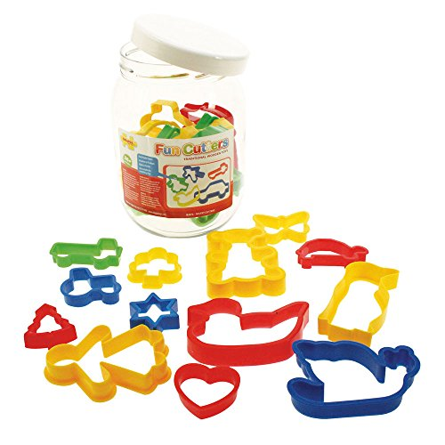 bigjigs-toys-jar-of-24-pastry-cutters-childrens-baking-cookie-cutters