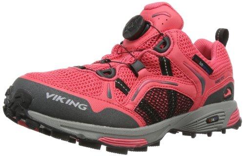 Viking Apex Boa 3-43570, Scarpe da jogging Donna Rosa (Dark Pink/Charcoal 3977)