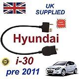 Hyundai i30 2009 - 2011 modelos totalmente INTERGRATED para Apple iPhone 5 5c 5s 6 6s Plus Cable de Audio para modelo 2009 2011 año por cablesnthings