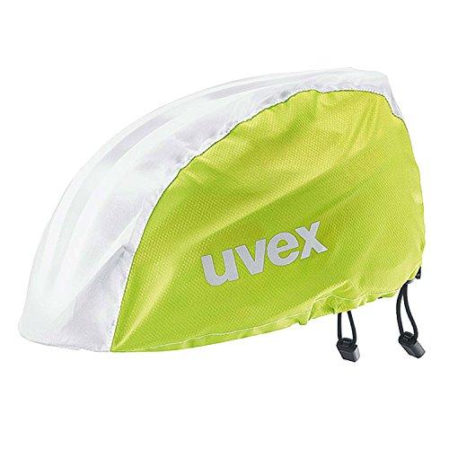 Uvex Raincap Bike Fahrrad Helm Regenhülle Überzug gelb/weiß: Größe: S/M