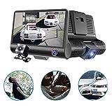 "Kingboos D-218 1080p FHD 4"" Ekran 3 Kameralı Araç İçi Kamerası"