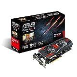 Asus R9270X-DC2-4GD5 R9 270X DirectCU II AMD Grafikkarte (PCI-e, 4GB GDDR5 Speicher, HDMI, DVI, DisplayPort, 1 GPU)