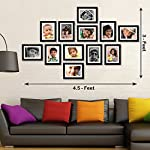 "Box Content : set of 12 individual frames, Actual Photo Size - 4""x6"" Inch And Photo Size with Mount - 6""x8"" Inch, Outer Frame Size - 7.5"" x 9.5"" Inch"