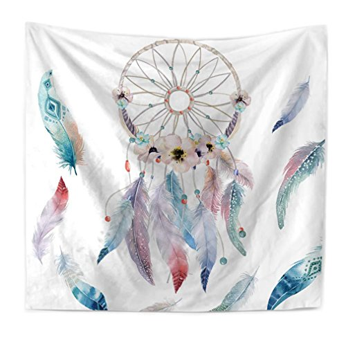 AdoraTapestry Tapestry Tapiz de Pared Tapestry Wall Hanging Toalla de Playa Beach Towel Yoga Mat Pareos Playa Toalla Mandala Original Acuarela Atrapasueños hogar 200X150cm