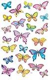 Avery Zweckform 4390 Deko Sticker Schmetterlinge 69 Aufkleber