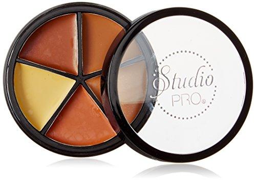 BH Cosmetics Studio Pro Perfecting Concealer Makeup, Medium/Dark by BHCosmetics