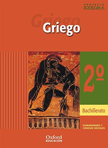 Griego 2º bachillerato exedra libro del alumno