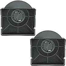 Spares2go CHF303tipo carbón olor carbono filtro para Hotpoint Cocina Campana Ventilador rejilla de ventilación (Pack de 2)