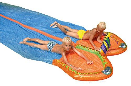 Happy People 77825 - Doppel Wasserrutsche, 650 x 180 cm