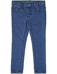 ESPRIT KIDS Folie, Pantalon Fille, Bleu (Stoned Denim), 2 Ans (Taille Fabricant: 92)