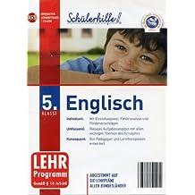 Schülerhilfe! ~ Englisch - 5. Klasse (Lehr-Programm Gemäß §14 JuSchG) [CD-ROM]