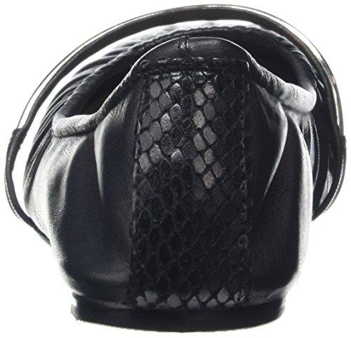 Aldo Cavizano, Ballerines femme Noir - Black (Black Leather / 97)