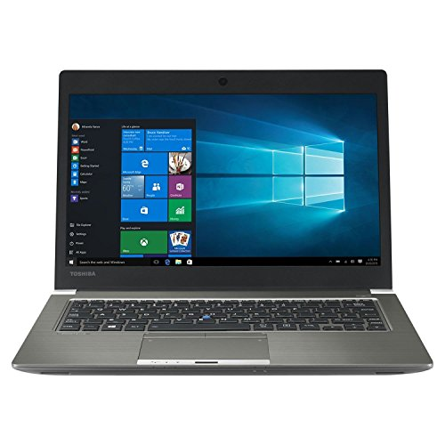 Toshiba Portege Z30-C-18X  - Ordenador portátil de 13.3' Full HD (Intel Core i7-6500U, 16 GB, 256 GB SSD, Intel HD Graphics 520, Windows 10 Pro) - Teclado QWERTY Español
