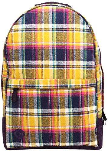 Mi-Pac Maxwell Backpack Bolso Bandolera, 46 cm, 17 Litros, PremTartanNavy