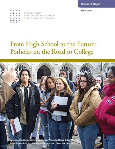 From High School to the Future: Potholes on the Road to College by Melissa Roderick (2012-12-13) par Melissa Roderick;Jenny Nagaoka;Vanessa Coca;Eliza Moeller
