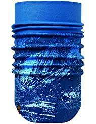 Buff Braga para el cuello resistente al viento cuello, Unisex, color Mountain Bits Blue/printed, tamaño Adult/One Size