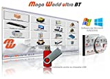 MAGA WORLD ULTRA BT SOFTWARE professionale programma gestionale per BAR, PIZZERIA, PUB, ASPORTO magazzino Gestionale di magazzino carico scarico inventario, codici a barre, vendita al banco Touch screen