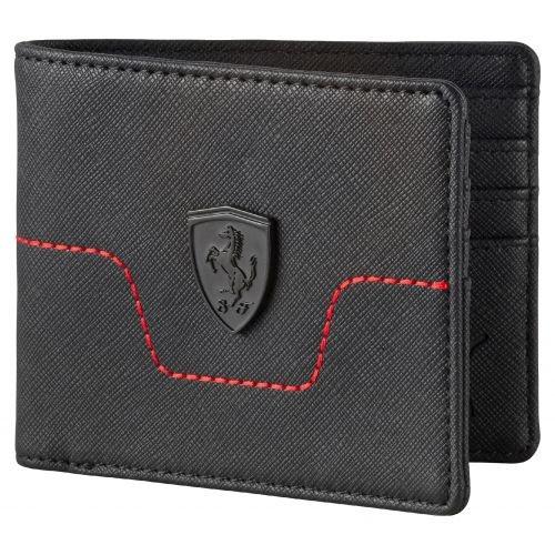 puma-ferrari-ls-wallet-m-black-portefeuille-noir-taille-unique