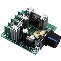 Yeeco PWM DC Controller Motore Della Pompa Regolatore di Velocità 0-5 Volt di Tensione Regolabili Regolatore Modulo di Controllo Variazione Continua - Modulo Di Controllo Del Motore