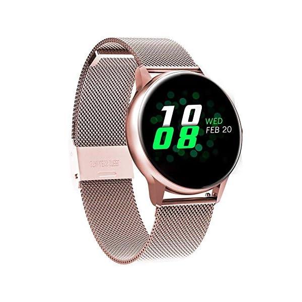 naack smartwatch, Reloj Inteligente Impermeable IP68 Pulsera de Actividad Pulsómetro Monitor de sueño Deportivo… 3