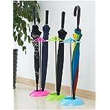 PRO365 Modern Solid Economical 5 Umbrella/Broom Holder Random Color
