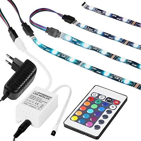 Jago - Retroiluminación LED para televisiones de 23 – 24 pulgadas (16 colores distintos y 4 efectos de cambio de color)