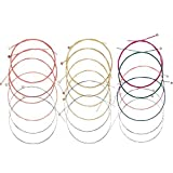 Best Guitar Strings - 3 Sets of 6 Acoustic Guitar Strings Replacement Review
