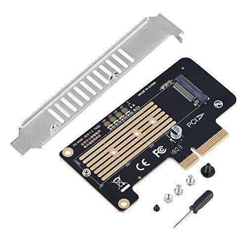 X4 Mit X8-steckplatz (Denash SSD zu PCI-E Extender-Karte, NGFF M.2 Mkey NVME SSD zu PCI-E 4X Adapter Riser-Karte, unterstützt PCI-E X4-Steckplätze, X8 / X16-Steckplätze)