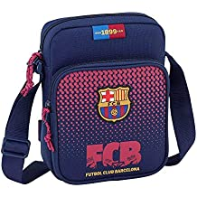 1d319b09a67 Safta Bandolera F.C. Barcelona Corporativa Oficial Con Bolsillo Exterior  160x60x220mm