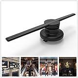 Werbemaschine, 3D Holographische Projektor Hologramm Player Led-anzeige Fan Werbung Licht APP Control 85-265 V 42 cm / 16,54