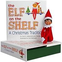 Elf On The Shelf Boy Dark Doll & Book