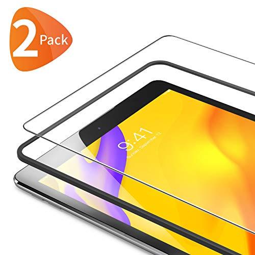 Bewahly für Panzerglas Schutzfolie für iPad 9.7 [2 Stück], 9H Härte Panzerglasfolie HD Bildschirmschutzfolie mit Installation Werkzeug für iPad 9.7 2018/iPad 9.7 2017/iPad Air 1/Air 2/iPad Pro 9.7 Zoll