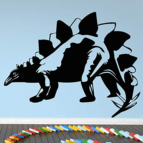 Neue Ankunft Stegosaurus Dinosaurier Wandaufkleber Kunst Vinyl Aufkleber Für Wohnkultur Tier Wandtattoos Kind Kinder Jungen Room Decor 44CMX33CM