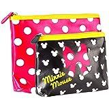 Disney Minnie Mouse Flast Wash Bag Set