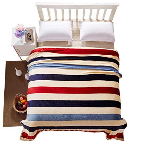 HD-Dreamer Kuscheldeck Decke Tagesdecke 100% Mardersamt Super Weiche, Zweiseitige Flauschige Sofadecke, Leichte Mikrofaser Decke Überwurf Für Sofa Couch Und Bett Zeitgenössisches,C,200 * 230Cm - Zeitgenössische-sofa-bett