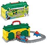 Thomas y sus Amigos - Transportable Tidmouth Cocheras Juego - Adventures Mattel