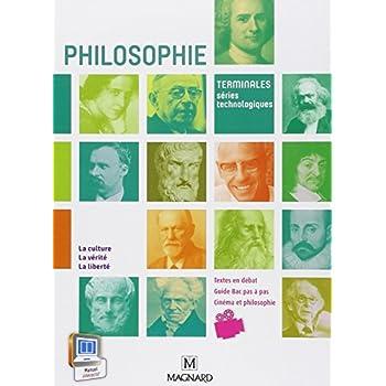 Philosophie : Terminales séries technologiques