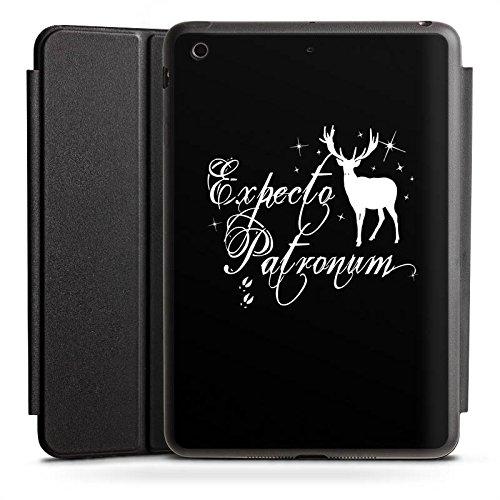 Apple iPad Mini 4 Smart Case schwarz Hülle mit Ständer Schutzhülle Expecto Patronum Harry Potter - Ipad Potter Harry Case Mini