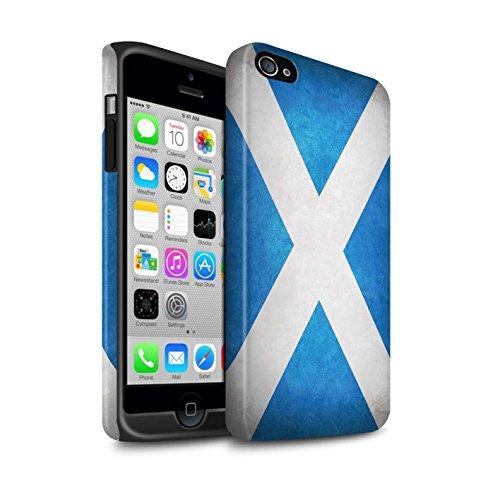 Coque Matte Robuste Antichoc de STUFF4 / Coque pour Apple iPhone 7 Plus / Albanie/Albanais Design / Drapeau Collection Écosse/écossais