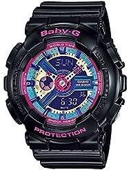 Baby G Ladies 'reloj XL analógico digital cuarzo Resina BA-112–1AER