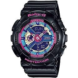 Casio Baby-G Reloj Analógico/Digital de Cuarzo para Mujer con Correa de Resina – BA-112-1AER