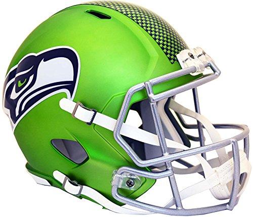 Sports Memorabilia Riddell Seattle Seahawks Blaze Revolution Speed Full-Size Replica Football Helm–Fanatiker Authentic zertifiziert