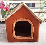 YoJu Home Decorationsdetachable Dog Kennel, Teddy Dog House, Pet Goods, Cat Litter, Pet Nest, House Type Nest 43 * 37 * 43Cm