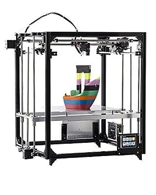 FLSUN 3d Printer Square DIY Kit Touch Screen Auto Nivellierung Druck Größe 260X260X350 mit Auto Level beheizte Bett Präzision