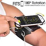 Brassard Multifonctionnel de Sport l'Anti-Sueur pour Telephone au Bras pour iPhone X / 8 Plus/ 7...