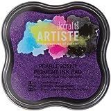 Artiste tampón de tinta, morado nacarante