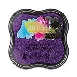 Artiste Pigment Stempelkissen, mit Perlglanz, Violett